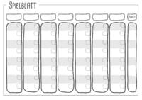 Spielblatt